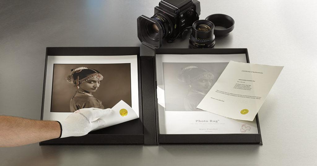 Un cofanetto per la conservazione delle stampe e fotografie fine-art