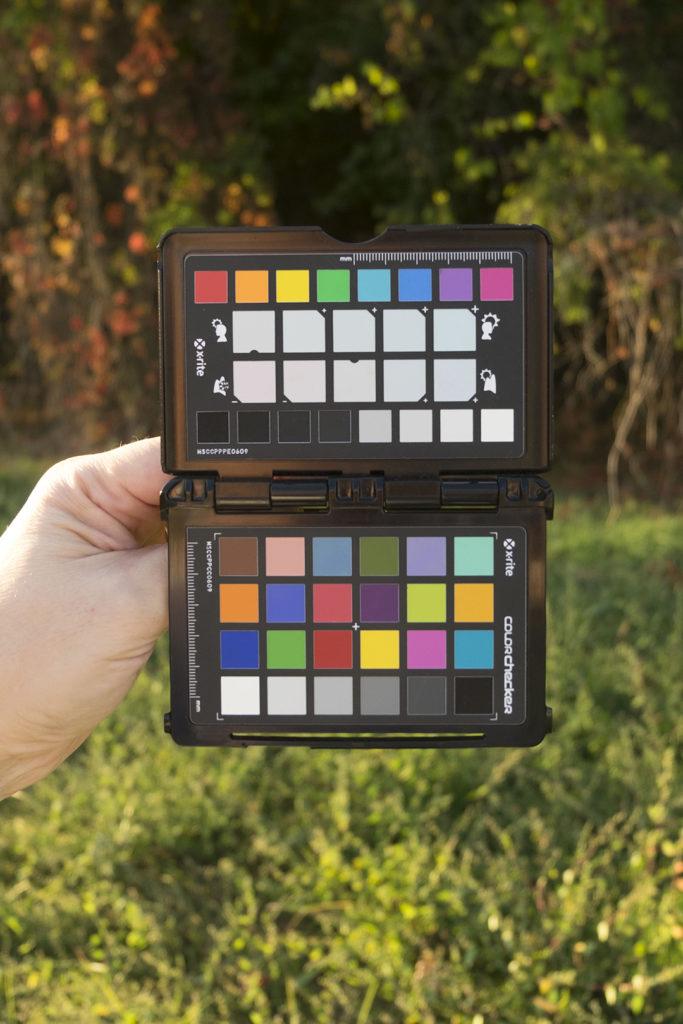Lo scatto di paesaggio con il target creative enhancement di ColorChecker