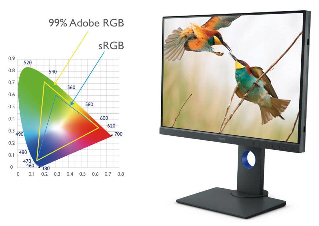 BenQ SW240 un monitor widegamut ad un prezzo contenuto