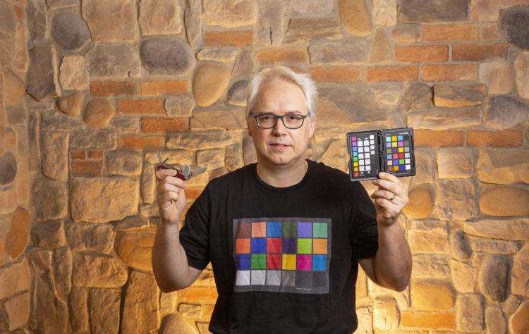 Massimo ed il ColorChecker Passport Photo 2