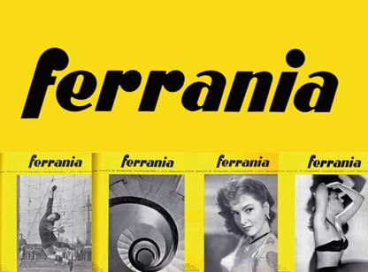 Il logo della rivista Ferrania
